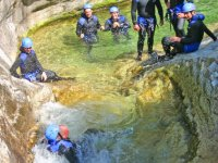 Canyoning entre amis avec In Terra Corsa Canyoning