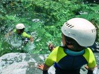Canyoning pour les plus petits en Corse