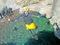 Decouvrez le Canyoning en Corse