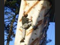 Mur d escalade en exterieur a Lege Cap Ferret