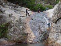 Glissage au canyon Llech