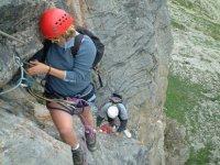 Aventure sur les parois des Hautes Alpes