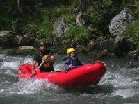 Canoe raft Neste d Aure