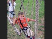 Parcours acrobatique facile a Guchan