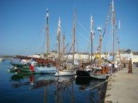 La flotte de bateaux de peche