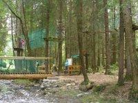 Aventure dans les arbres en Haute Savoie