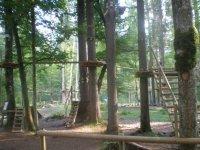 Les installations du parc a Samoens