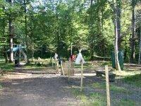 Parcours acrobatique dans les arbres Samoens