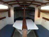 intérieur du voilier