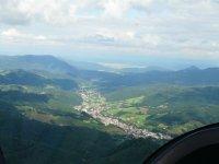 La terre vue du ciel en Gyrocoptere