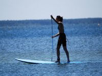 Decouverte du paddle surf Cazaux