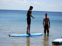 Initiation paddle surf bassin Arcachon