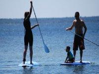 Paddle surf sur le bassin d Arcachon