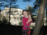 Amusement au parcours aventure le plus grand de Savoie