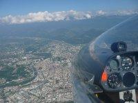 Grenoble vue du planeur