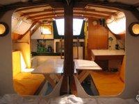 Interieur d un voilier