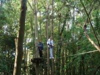Parcours acrobatique en hauteur dans le Calvados