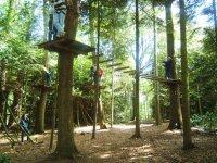 Parcours aventure St Sauveur le Vicomte