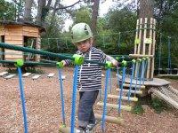 Parcours aventure pour les enfants a Pleumeur Bodou