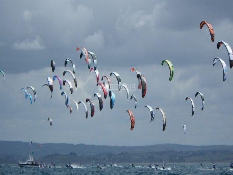 Venez decouvrir le kite surf