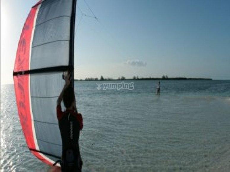 Kitesurf a partir de 14 ans