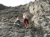 Aventure escalade outdoor avec Acro Pole