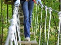 Parcours acrobatique en hauteur dans la Marne