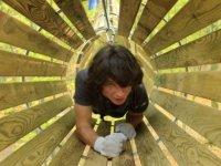 tunnels du parc Accroder