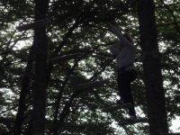 Parcours acrobatique en hauteur en Haute Savoie