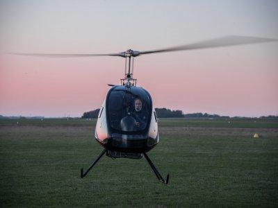 FRANCE ULM Vol en Hélicoptère