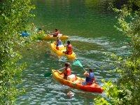Aventure en canoe pres de Lyon