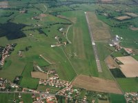 L aerodrome vu du ciel