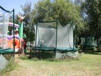 Les trampolines et filets de protection