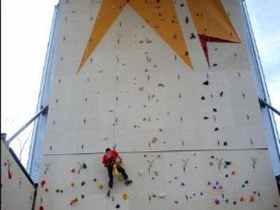 Base de loisirs Buthiers Mur d'escalade