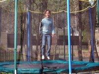 Trampolines de la base de loisirs enfants en Ile de france