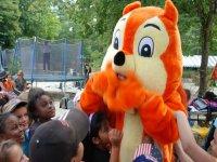 la mascotte du parc enfants Buthiers