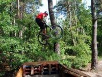 Cours de maniabilite et parcours VTT en Ile de France
