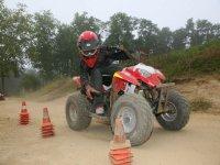 Slalom vitesse et precision quad