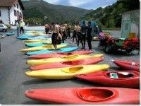 Les equipements kayaks