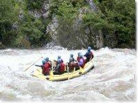 Rafting classe III
