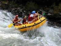 rafting en famille sur la Nive