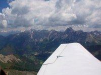 Les Alpes vus du ciel