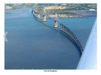 Pont de St Nazaire vu du ciel