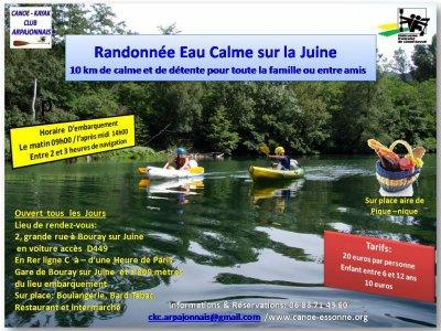 Prix Enfant pour faire du Canoë Kayak sur la Juine