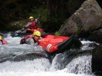 A l eau en canoe
