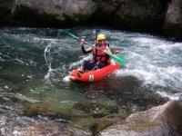 Kayak Air Boat en riviere