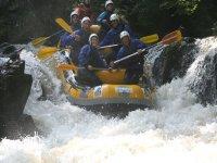Rafting entre amis