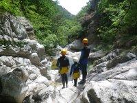 Paysage cevenol en canyon