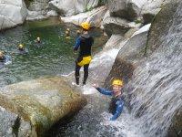 Les vasques du Canyon du Tapoul