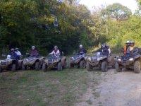 Sortie quad en groupe Ardennes